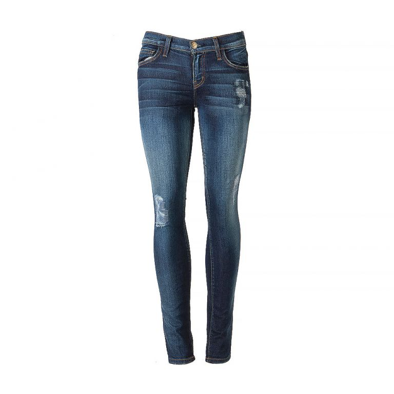 Current Elliott Low-Waisted Ankle Jeans