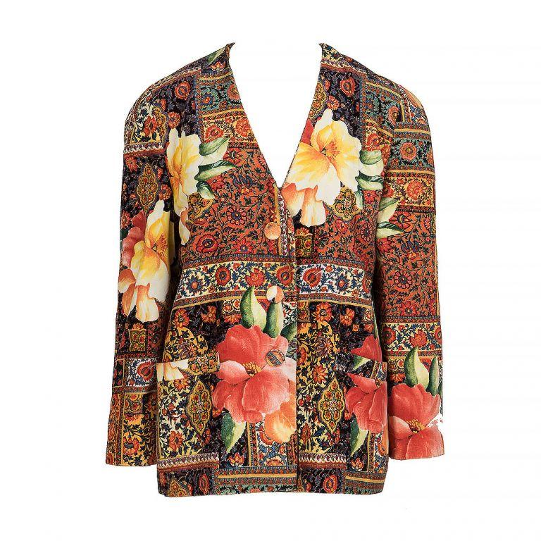 Petra Weichmann Vintage Collarless Blazer