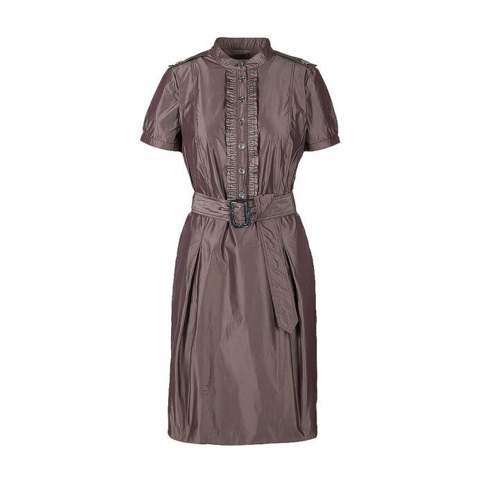 Burberry Brown Short Sleeve Dress