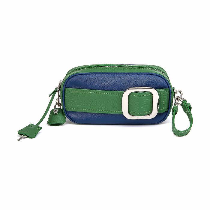 Prada Lux Belted Clutch Bag