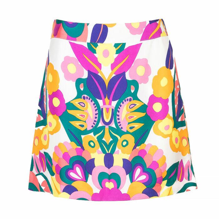 See by Chloe Multicolour Silk Mini Skirt