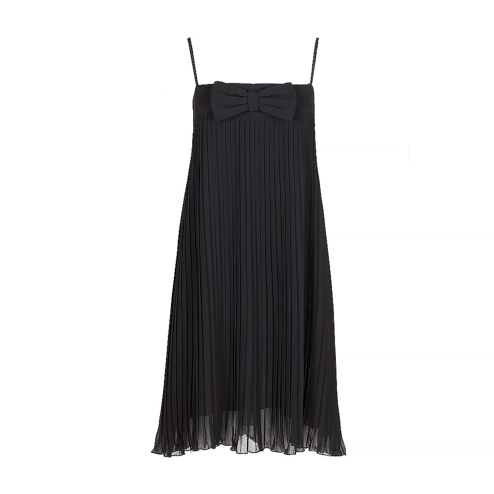 Twinset Black Boob Tube Mini Dress