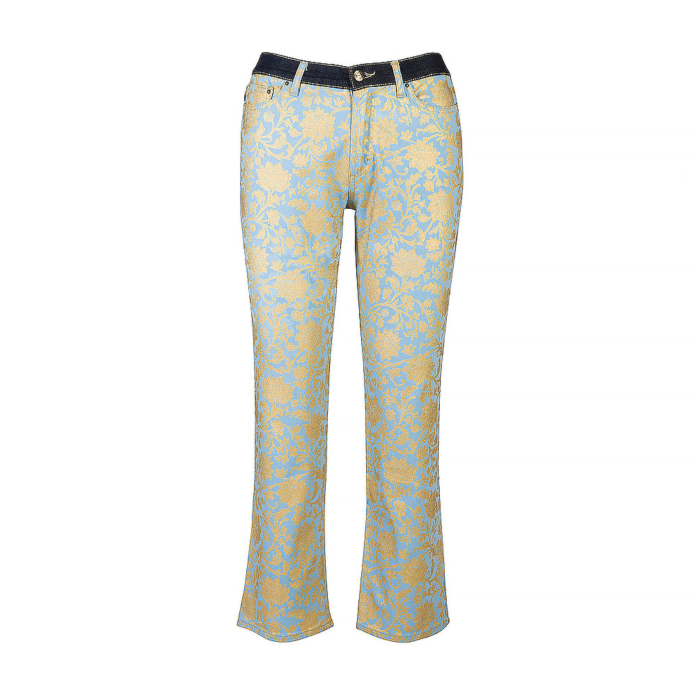 Just Cavalli High-Waisted Cropped Jeans