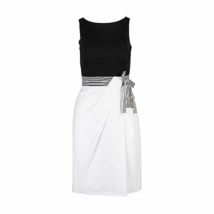 Paul Ka Sleeveless Knee Length Dress