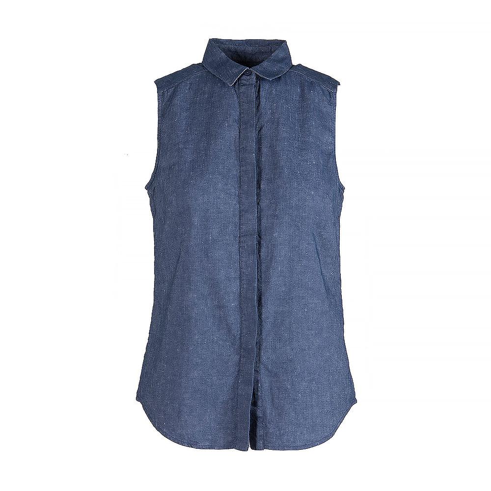 Victoria Beckham Cotton Sleeveless Shirt