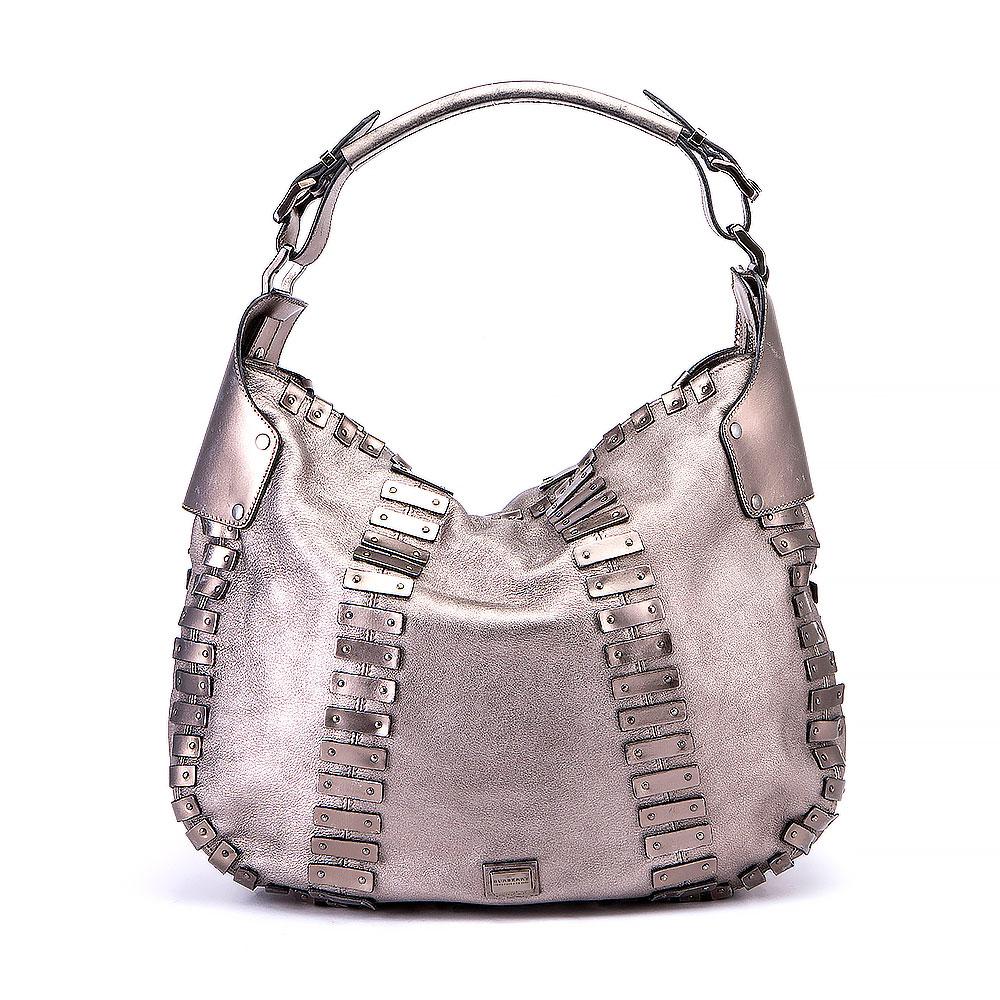 405af254170f Burberry Studded Hobo Bag