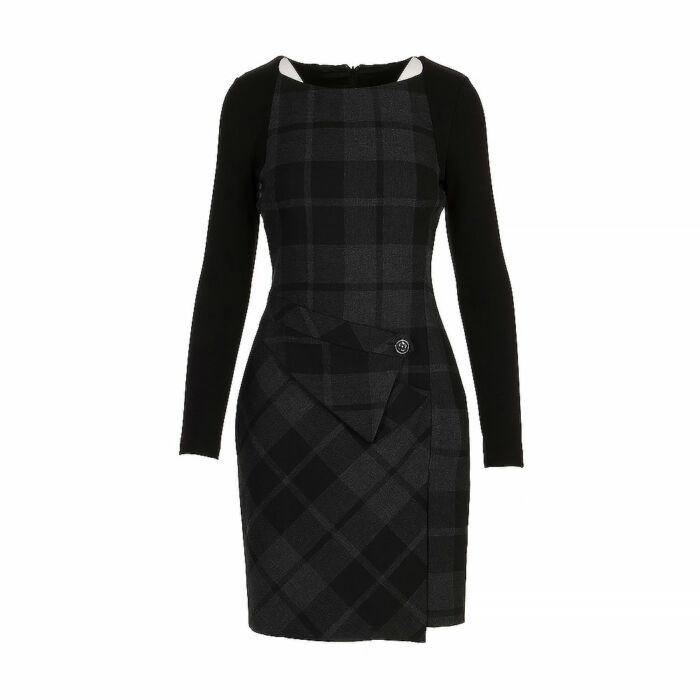 Karen Millen Textured Knee Length Dress