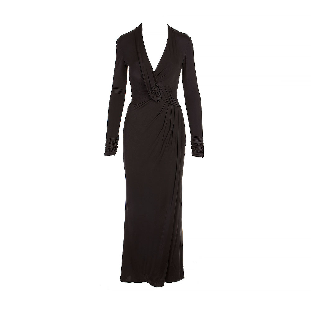 Karen Millen Long Sleeve Maxi Dress