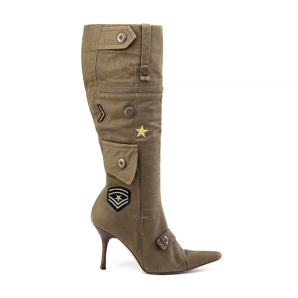 Dolce & Gabbana Pointed Toe Boots