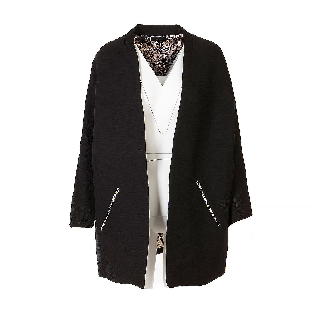 By Julie Mid Length Open Jacket