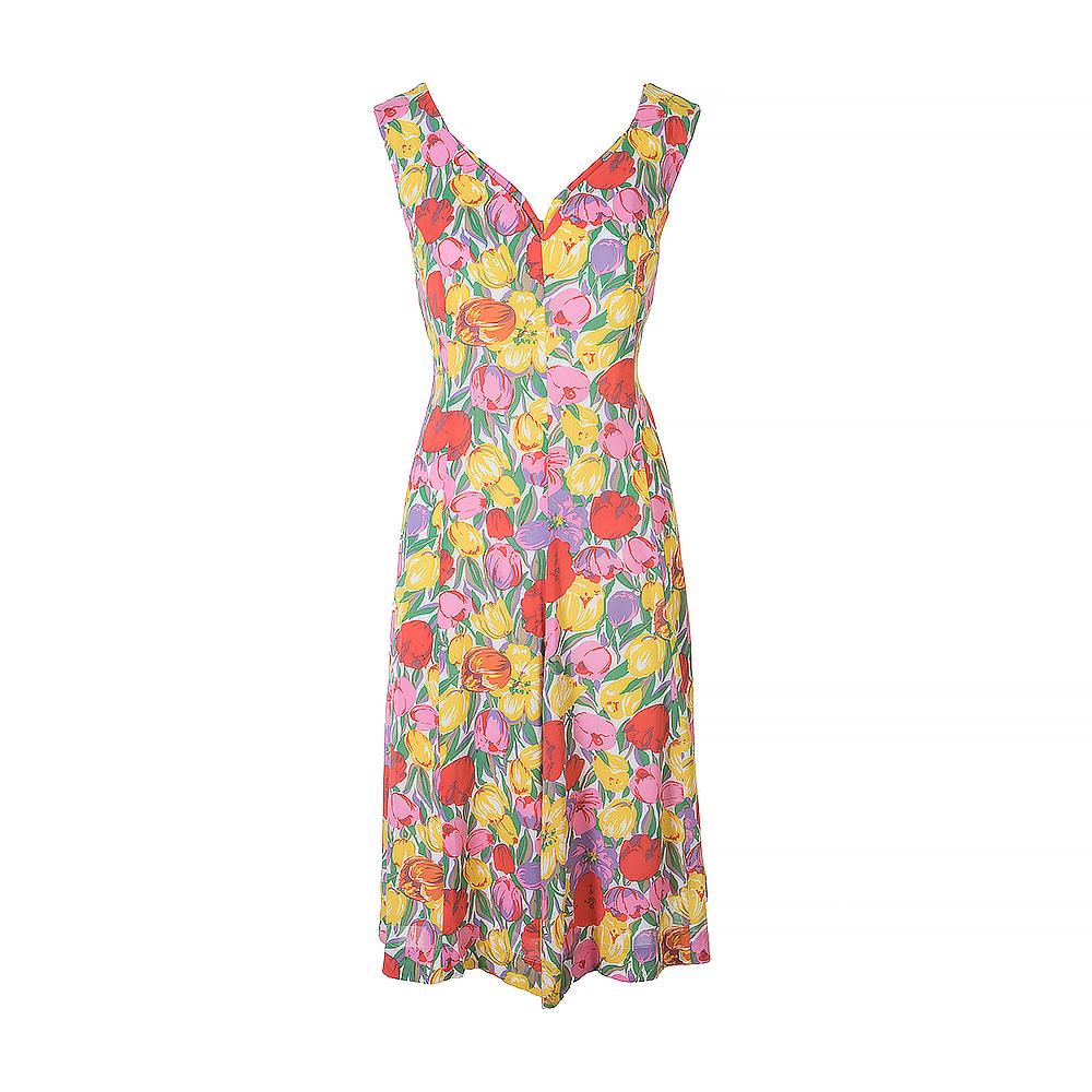 Sixton London Multicolour Sleeveless Mid Length Dress