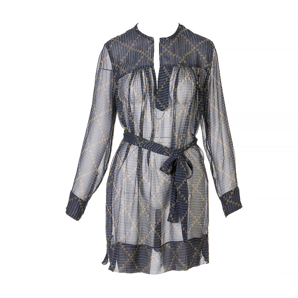 Isabel Marant Silk Above The Knee Dress