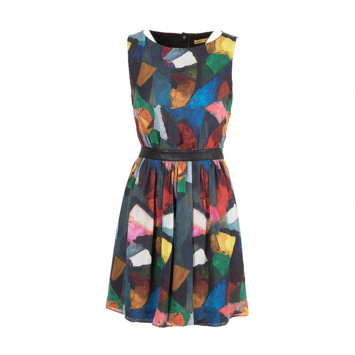 Alice + Olivia Sleeveless Knee Length Dress