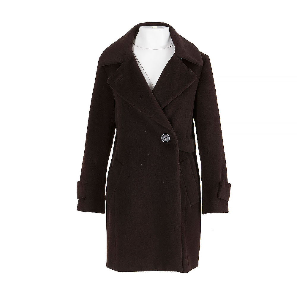 Gerard Darel Double Breasted Mid Length Coat