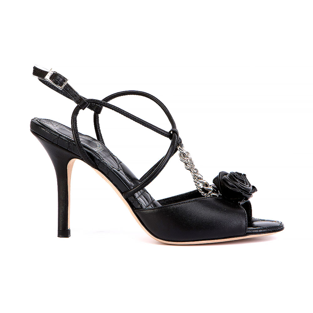 Christian Dior Open Toe Slingback Sandals