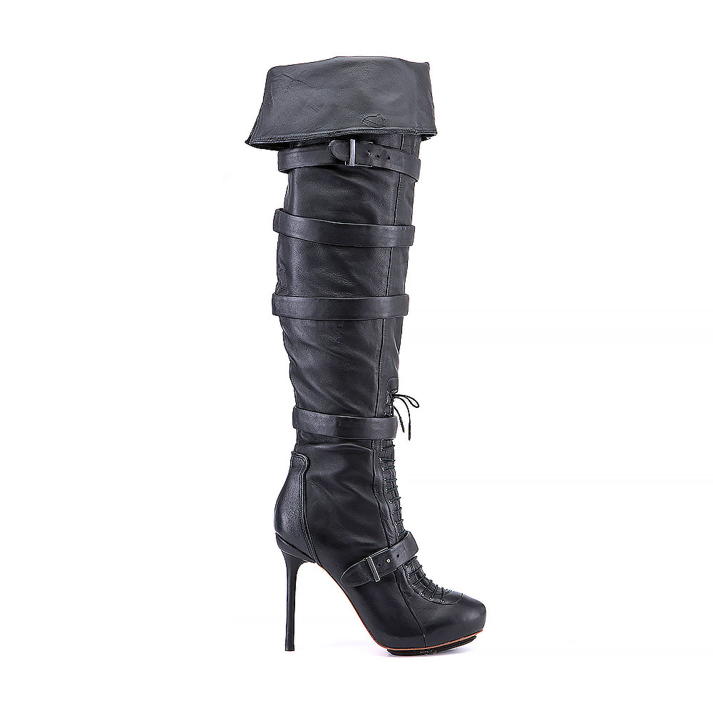 Lamb By Gwen Stefani Thigh High Round Toe Boots