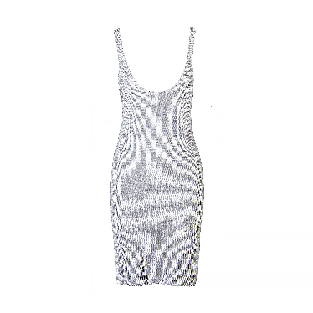 Joseph Sleeveless Knit Mini Dress