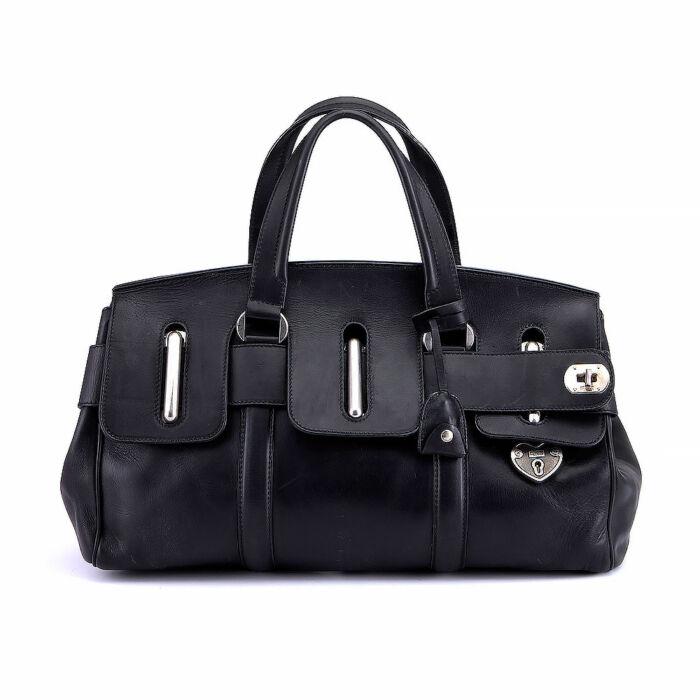 Alexander McQueen Heart Tote Travel Bag