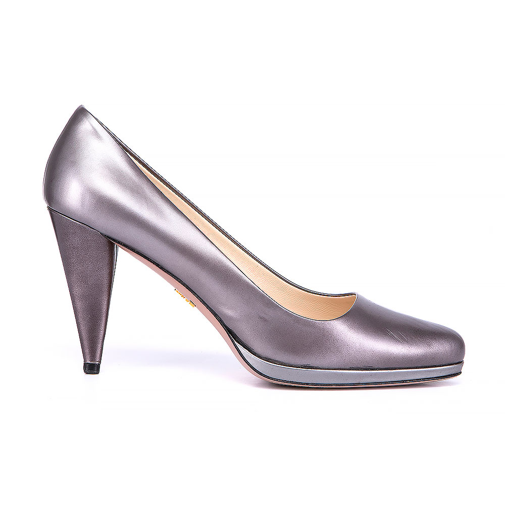 Prada Semi Pointed Toe Pumps