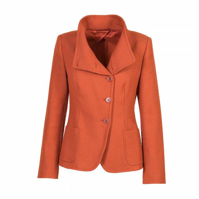 Max Mara Orange Blazer