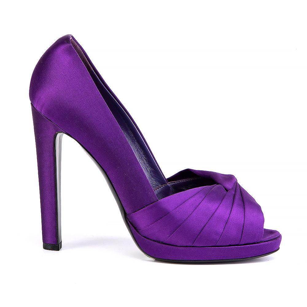 Sergio Rossi Violet Pumps