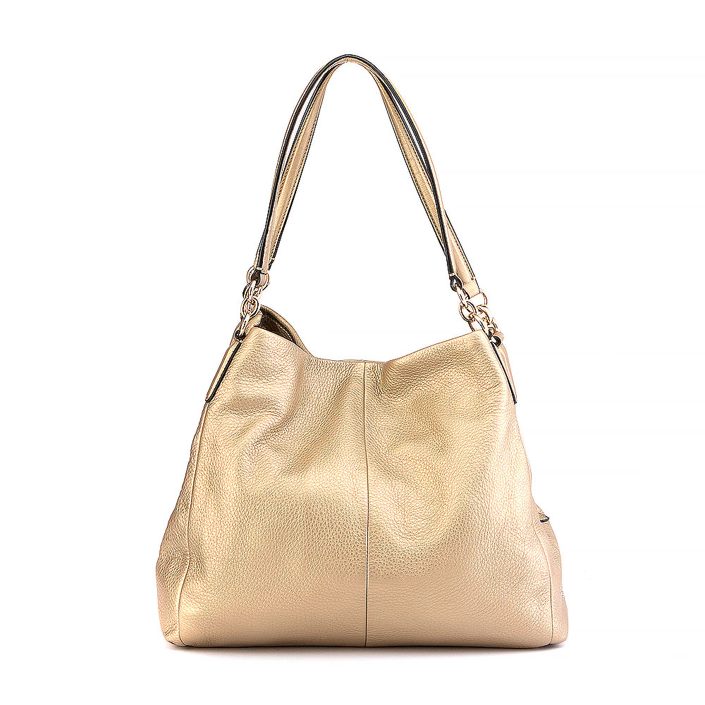 Coach Pebbled Leather Bag