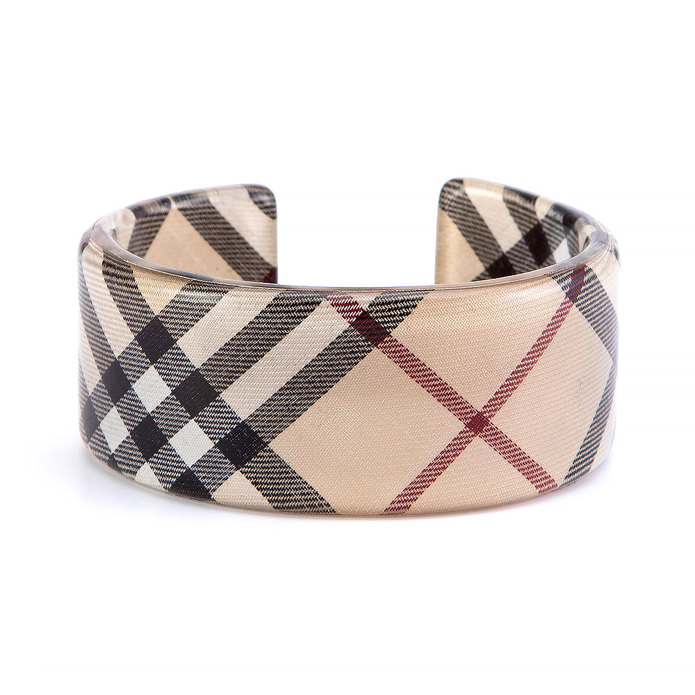 Burberry Multicolour Plastic Bangle