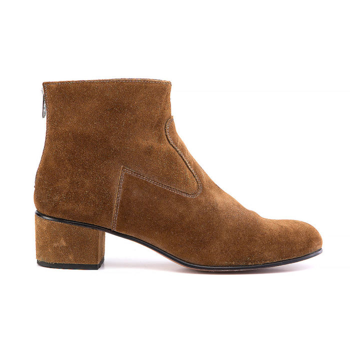 Juch Round-Toe Ankle Boots
