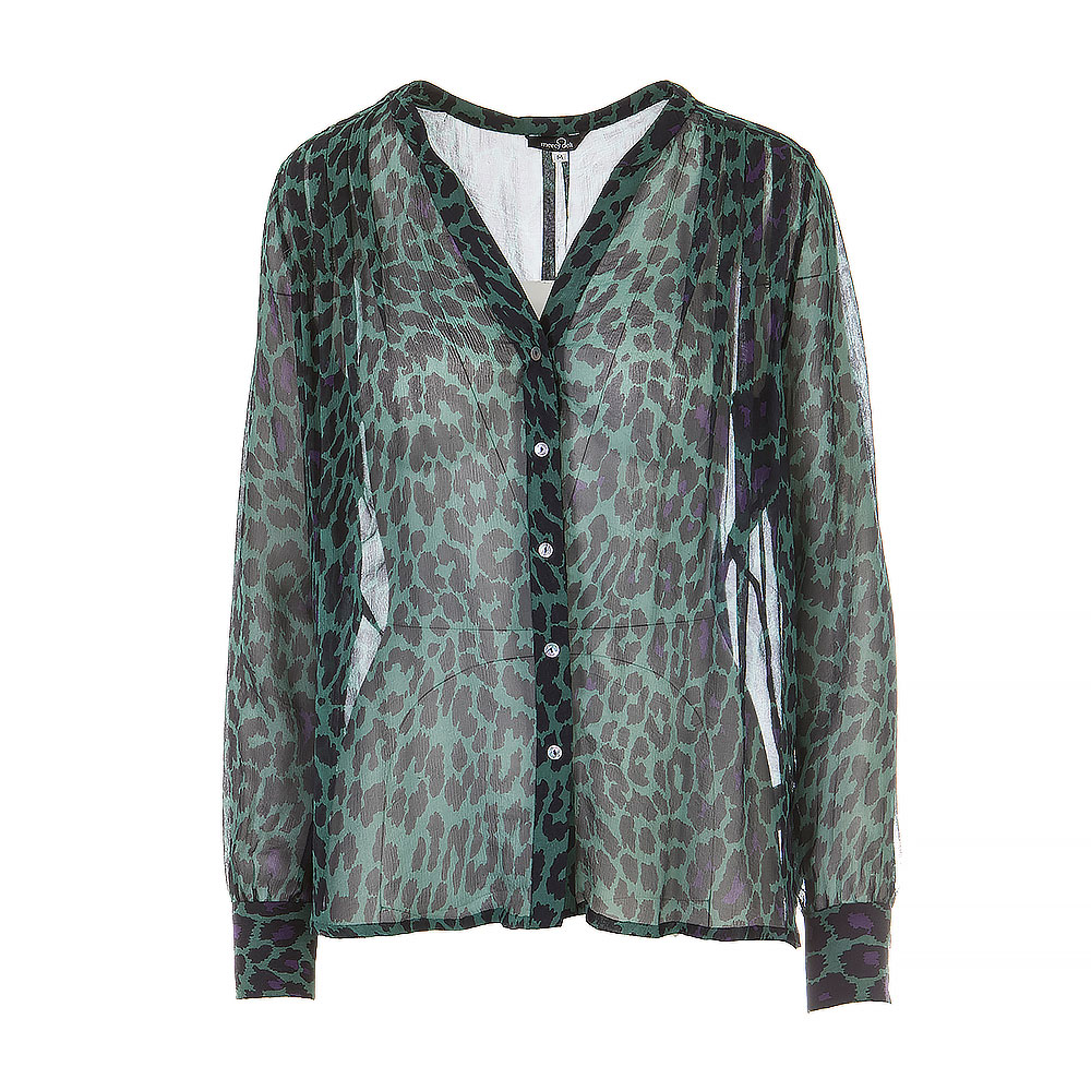 Mercy Delta Blouse Animal Print