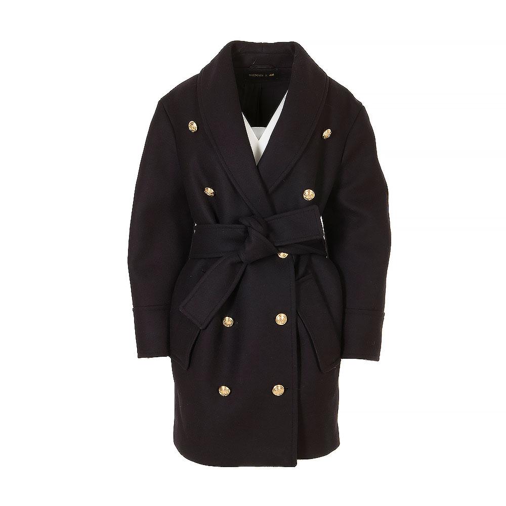 Balmain X H&M Mid-Length Coat