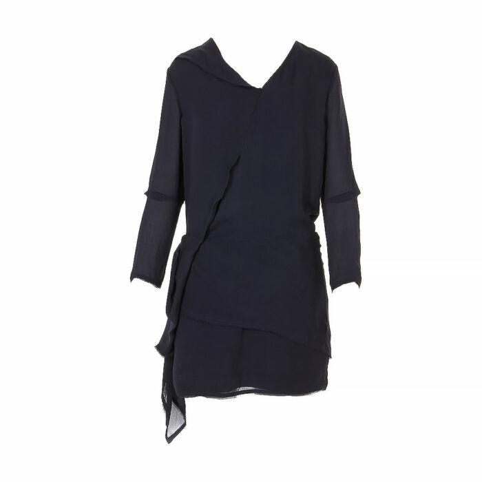 Acne Multi-Pleated Mini Dress