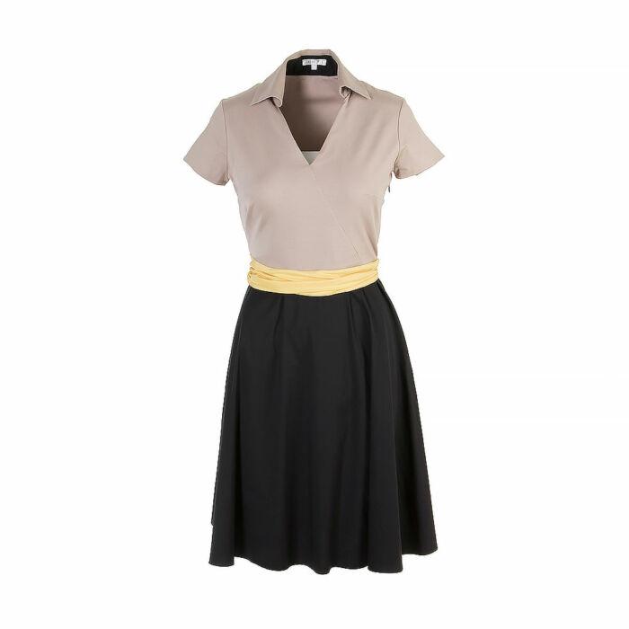 Paul Ka Knee-Length Dress